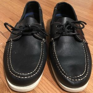 Eddie Bauer Boat Shoes 12. Black